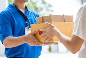 Imagem de entrega de frete